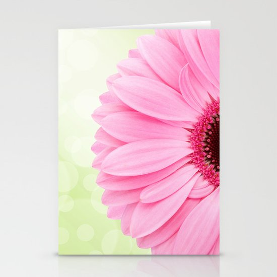 Gerbera (1) Stationery Card