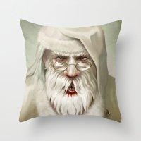Santa's Secret Throw Pillow