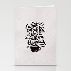 Hot Tea Stationery Cards