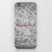 iPhone & iPod Case featuring Concrete & Letters II by no.216