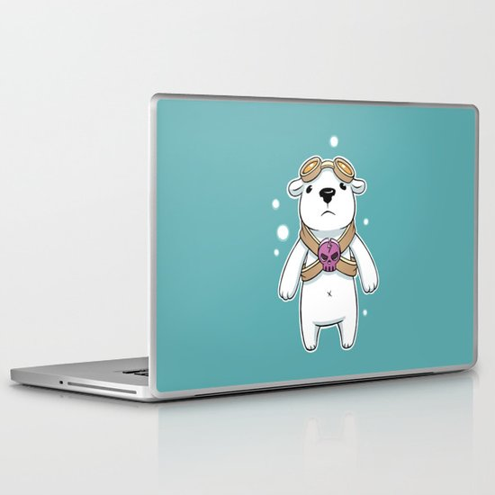 Polar Pilot Laptop & iPad Skin