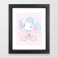 PURIN Framed Art Print