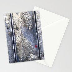 Frost Owl Stationery Cards