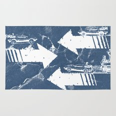 Back to the Future Minimalist Poster Rug