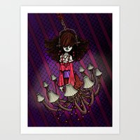 Ghost In The Haunted Hou… Art Print