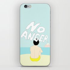 NO ANGER iPhone & iPod Skin