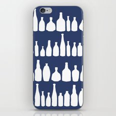 Bottles Navy iPhone & iPod Skin