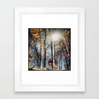 North 6 Framed Art Print
