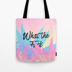 What The F**k Tote Bag