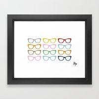 Glasses #4 Framed Art Print