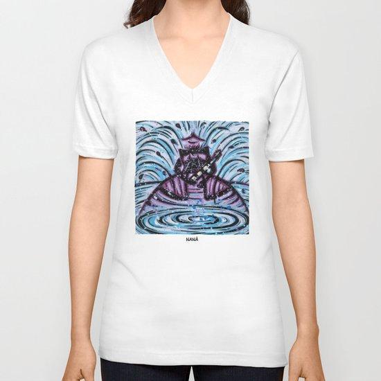 Orixás - Nanã V-neck T-shirt