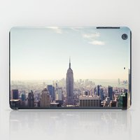 Manhattan - Empire State Building Pano | colored iPad Case