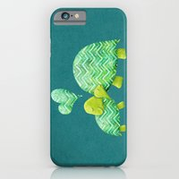 iPhone & iPod Case featuring Turtle Hugs by Elephant Trunk Studio