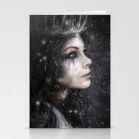 In The Dark Of Winter Stationery Cards