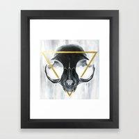 The Cat's Halo Framed Art Print
