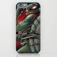iPhone & iPod Case featuring Raphael . TMNT by Moonsia