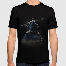 Artorias (Dark Souls fanart) Mens Fitted Tee Black SMALL