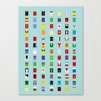 Minimalism SH Canvas Print