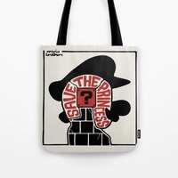 Save The Princess Tote Bag