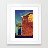 Petaluma Framed Art Print