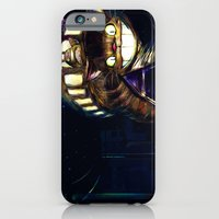 iPhone & iPod Case featuring Cat Bus is In Your Town! Miyazaki Tribute Digital Fan Painting by Barrett Biggers