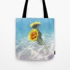 Underwater Sunflowers  Tote Bag