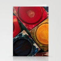 Painting with Colors Stationery Cards