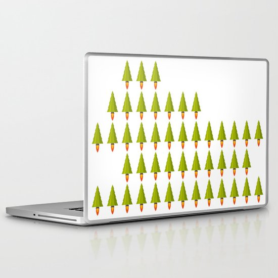 X-Mass Rockerts Laptop & iPad Skin