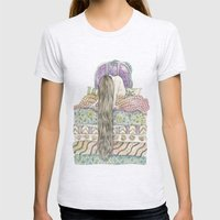 Beatrice Wakes Up After … Womens Fitted Tee Ash Grey SMALL