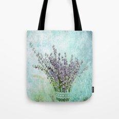 Lavender bouquet Tote Bag