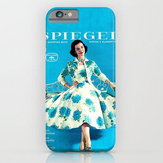 1958 Spring/Summer Spiegel Catalog iPhone & iPod Case