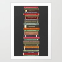Ghostbusters Stacked Boo… Art Print