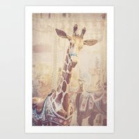 Front and Center Art Print