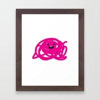 Garabato 2 Framed Art Print
