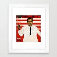 A Dishonest Man Framed Art Print