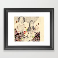 Deathofaqueen Framed Art Print