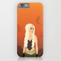 iPhone & iPod Case featuring Mother of the Dragons by Lauren dunn
