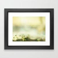 Tiny Universe Framed Art Print