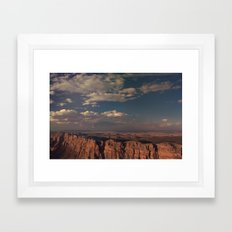 Grand Canyon - Color Framed Art Print