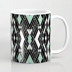 Art Deco Mint Mug