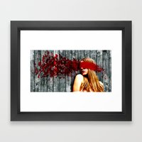 Sightless Fears Framed Art Print