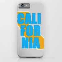 iPhone & iPod Case featuring California by Julie