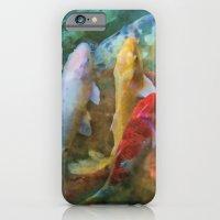 A Swirl Of Koi iPhone 6 Slim Case