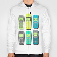Vintage Cellphone Patter… Hoody