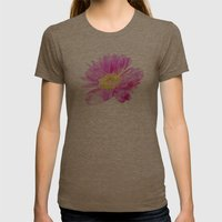 Love Shining Through Womens Fitted Tee Tri-Coffee SMALL