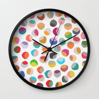 Toss 1 Wall Clock