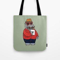 Hipposter Tote Bag