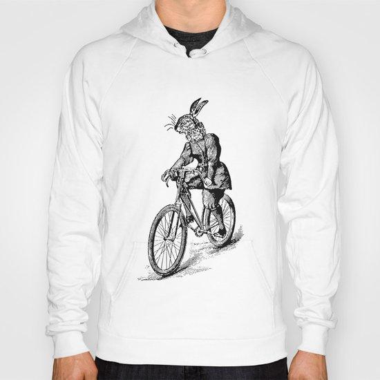 The Bicycle Bunny Hoody