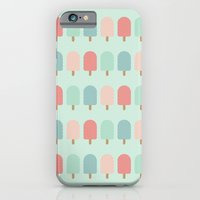 POPSICLES - BLUE iPhone 6 Slim Case