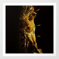 Massacre Of Saint Sebast… Art Print